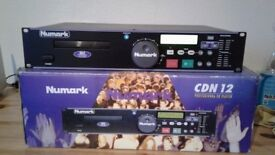 Numark cdn12 cd player