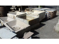 Large stone troughs available!