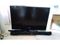 "37"" Toshiba LCD Tv , Sony Dvd and goodmans soundbar package"