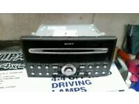 Ford transit - focus - c max - sony head unit cd player mp3