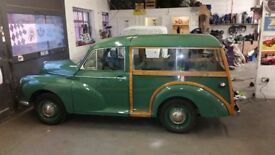 Wanted!! Quality Morris Traveller/saloon/ or LCV