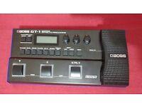 Roland Boss GT 1 multi effects processor