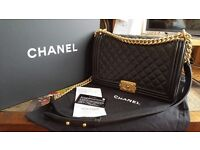 Chanel Quilted Boy Bag (large)