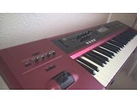 korg karma workstation synthesizer