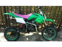 Akuma Assassin 125cc pit bike pitbike not 110cc