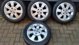 "Vauxhall Corsa Refurbished 15"" Alloy Wheels"