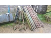 Cast iron guttering and hoppers and fittings