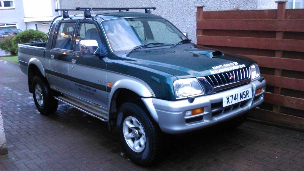 Mitsubishi L200 K74 Thule Roof Rack In Kirkcaldy Fife