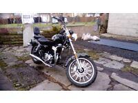 For Sale 2017 AJS Regal Raptor DD125E-8 Motor Bike