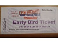 Scarborough Blues Festival 2018 Weekend Ticket