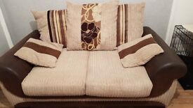 Two and three seater sofa for sale