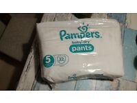 Pampers baby dry pants Size 5 - COLLECTION ONLY (GUILDFORD)