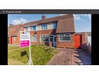 Two Bedroom Semi Detached House to Rent Available February 2017
