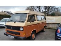 VOLKSWAGEN OFFERS T3 T25 CARAVELLE DEVON CAMPER 4 BERTH OFFERS PX WELCOME