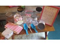 Wedding Sweet Jars, scoops & more