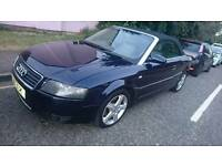 XX AUDI A4 CABRIOLET 2004 😍 summer fun!! Full leather MOTD Diesel AUTOMATIC only 2350