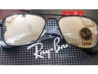 Rayban Designer Sunglasses With Carry Case Pouch In Limited Edition Gift Box