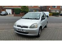 Toyota Yaris 1.3 CDX 5Door Hatchback ONLY 55000 Miles MOT Till SEPT 2017 1 Owner From New