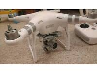 DJI Phantom 3 Advanced with Case, 2 Batteries, and Filters