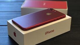 Iphone 7 plus red unlocked 128 GB