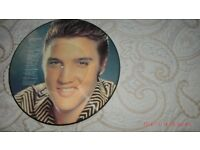 """ELVIS PRESLEY-""""TRIBUTE TO ELVIS(SIDE 3 & SIDE 4)12.INCH TWO SIDED COLORED PICTURE LP."""