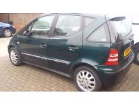 Mercedes-Benz A 140 classic for sale.