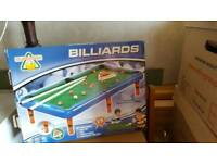 Children's pool table