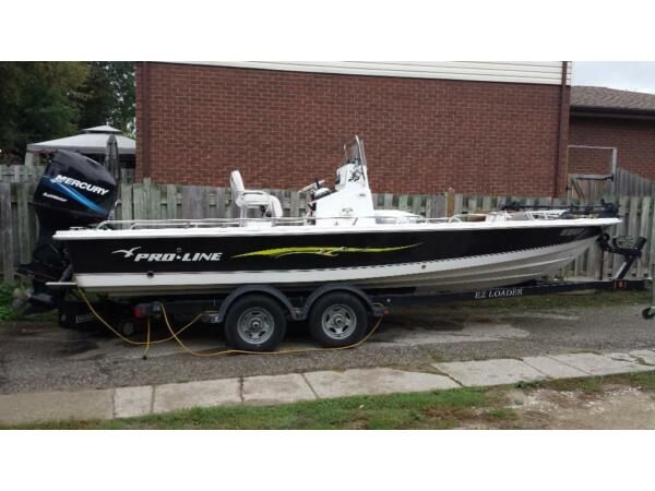 Used 2006 Pro Line Boat Co proline 22 ft Bay boat center console
