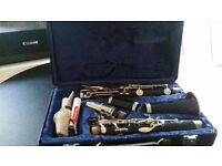 buffet crampon clarinet.Original case with cork grease and cleaning cloth included.Sad sell. £100.