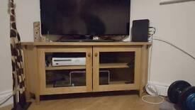 Ikea corner TV cabinet oak