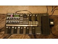 Boss GT-8 multi effects unit and Gator case