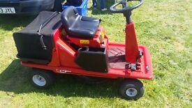 Lawnflight ride on mower