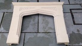 Used fire surround
