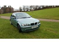 BMW 3 SERIES 1.8 AUTOMATIC, LONG MOT, VERY GOOD DRIVE, VERY LOW MILEAGE, FULL MOT HISTORY, 4 GOOD TR