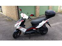 Lexmoto 125cc FMR 2016 Scooter / Moped RRP £1449.99
