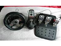 Logitech g25 racing wheel PC/PS3