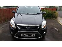 FORD KUGA 2009 PANTHER BLACK