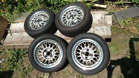 "BBS Wheels from an MX5 14"" inch 6jx14 4x100 ET45"