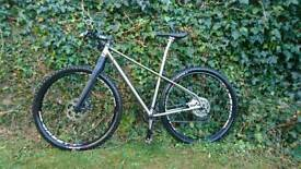 Titanium 650b mountain bike