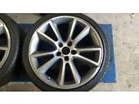 "Vauxhall vxr 19"" alloys and tyres"