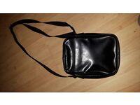 Nike black leather man bag/ pouch