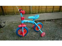 Toddler Thomas bike with stabilizers