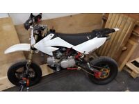 Stomp 140 race bike with slicks and uprated cams