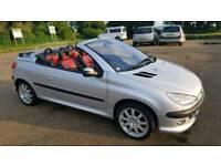 Peugeot 206 cc convertible
