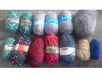 Bag of yarn