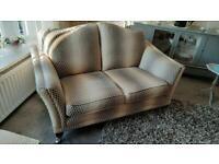 Parker Knoll (Harrow) 2 x 2 Seater + Pouffe