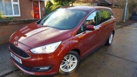 Ford Grand C-Max 1.0 EcoBoost Zetec MPV 5dr Petrol Manual (start/stop) (119 g/km, 123 bhp)
