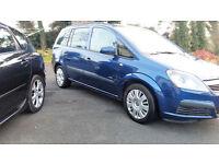 07 Vauxhall Zafira 1.8i Life Easytronic 5 Door ** 7 Seater** Full MOT**