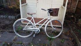 Creme CafeRacer Solo Ladies 3 Speed hybrid Bike