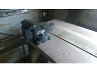 workbench with engineers vice